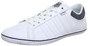 K-Swiss HOF IV VNZ - Zapatillas de cuero hombre, color blanco, talla 47