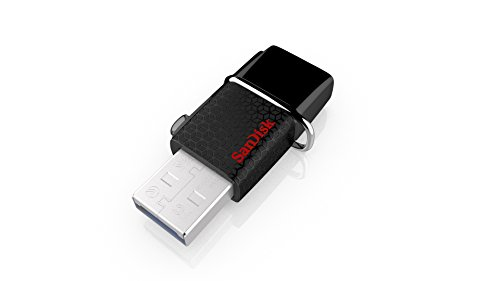 SanDisk Ultra 64GB USB 3.0 OTG Flash Drive With micro USB connector For Android Mobile Devices (SDDD2-064G-G46) (Micro Usb To Usb Storage compare prices)