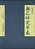 漱石研究年表