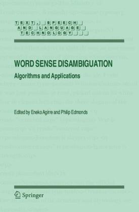 Word Sense Disambiguation: Algorithms and Applications