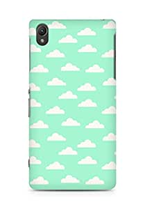 Amez designer printed 3d premium high quality back case cover for Sony Xperia Z2 (Cloud Pattern4)