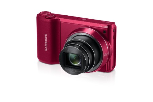 Samsung WB800F 16.3MP CMOS Smart WiFi Digital Camera with 21x Optical Zoom, 3.0