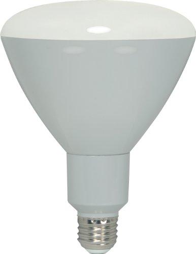 Satco S9003 13 Watt (85 Watt) 880 Lumens R40 Led Warm White 3000K 105 Beam Ditto Light Bulb, Dimmable