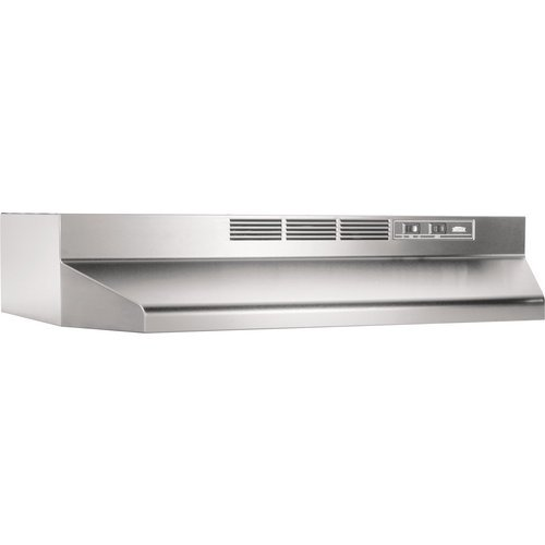 Broan 414204 ADA Capable Non-Ducted Under-Cabinet Range Hood, 42-Inch, Stainless Steel (Kitchen Exhaust Fan Ducted compare prices)