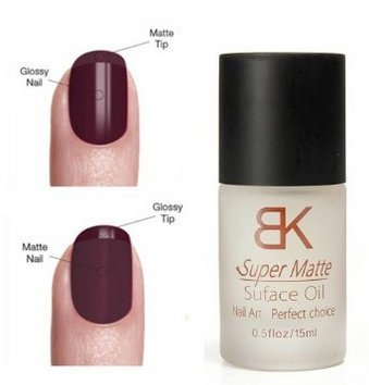 CITY 15 ML Nail Art Polish Magic Super Matte Frosted Surface Oil Top Coat (Matte Polish compare prices)