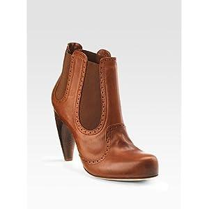 Women's Alexander McQueen Stretch Ankle Boots - Black