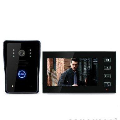 "Dragonpad® 7"" TFT Color Display Wired Video Door Phone Doorbell Intercom System Night Vision"