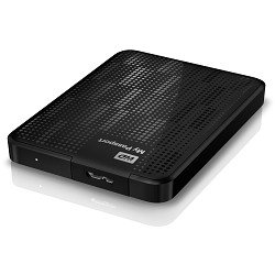 WD My Passport 1.5TB Portable External Hard Drive Storage USB 3.0 Black (WDBY8L0015BBK-NESN)