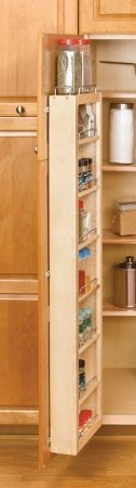 Rev A Shelf Rs4Wdp18.45 Wood Door Mount Pantry
