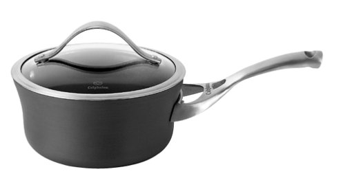 Calphalon Contemporary Nonstick 1-1/2-Quart Saucepan with Glass Lid