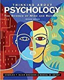 img - for Thinking About Psychology,Science of Mind and Behavior 2nd edition book / textbook / text book