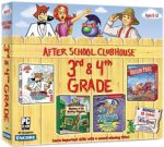 After School Clubhouse 3rd & 4th Grade (Spy Fox 2, Oregon Trail 5th, Zoombinis Island Odyssey, Cluefinders Mystery of the Monkey Kingdom)