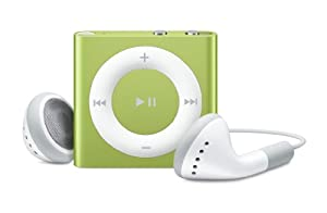 Apple iPod shuffle 2 GB Green (4th Generation) (Discontinued by Manufacturer)