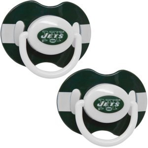NFL New York Jets 2 Pack Pacifier at Amazon.com