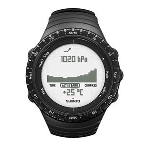 SUUNTO Core Regular Black Sports Watch