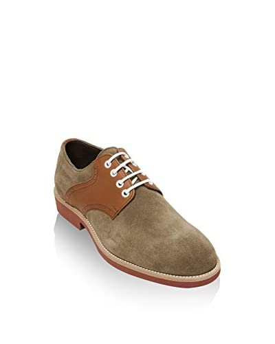 British Passport Zapatos derby Plain Barro