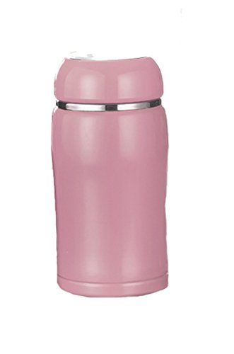 Ospard Lovely Vacuum Insulated Stainless Water Bottle 10 Ounces Pink