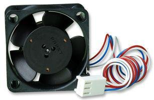 40X40X10Mm Dc Axial Fan With White Earbud Headphones