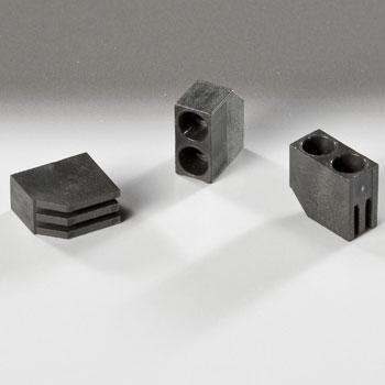 Led Mounting Hardware Led Holder 5Mm 2 Level Black (1 Piece)