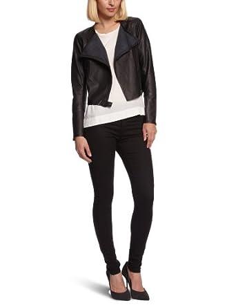 part two marah leather women s jacket amazon co uk clothing marah