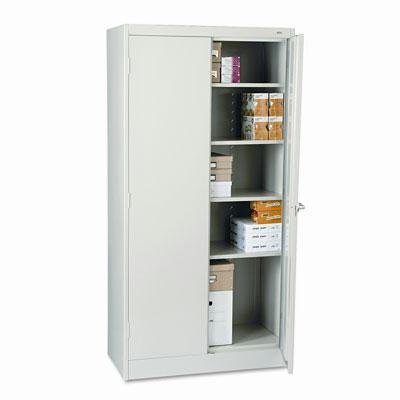 """Tennsco - 72"""" High Standard Cabinet 36W X 18D X 72H Light Gray """"Product Category: Office Furniture/File & Storage Cabinets"""""""