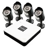 LaView 8 Channel Compact Surveillance System with Cloud Storage, 500GB HDD, 4 x 600TVL Bullet Camera LV-KD5184C-G5