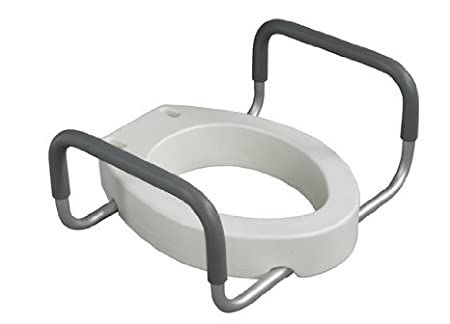 10 Best Elevated Raised Toilet Seat With Arms Toilet