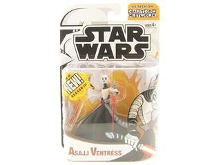 Star Wars Animated Clone Wars Figures Asajj Ventress