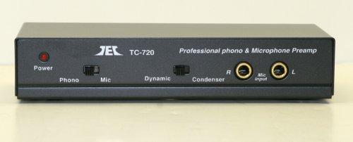 Tcc Tc-720 Stereo Microphone/Riaa Phono Pre-Amp, Preamp (Preamplifier)