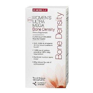 Gnc Women'S Ultra Mega Bone Density Multivitamin, Caplets 120 Ea