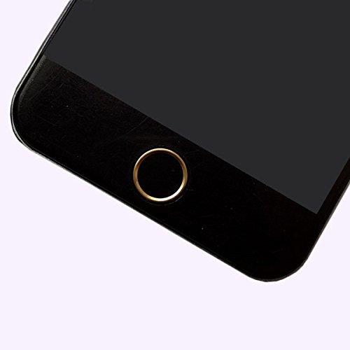 ホームボタンシール 指紋認証可能 アルミ ホームボタンシール TouchID...