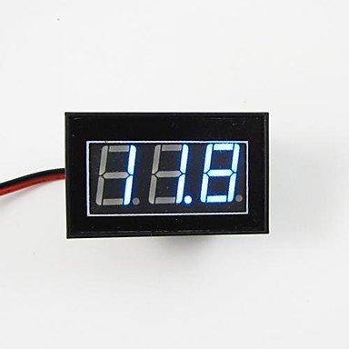 Zcl Mini 4.5 To 30V Blue Led Digital Display Volmeter Volt Voltage Meter