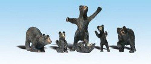 Woodland Scenics HO Black Bears WOOA1885