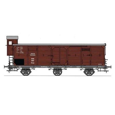 Fleischmann N Gedeckter Güterwagen