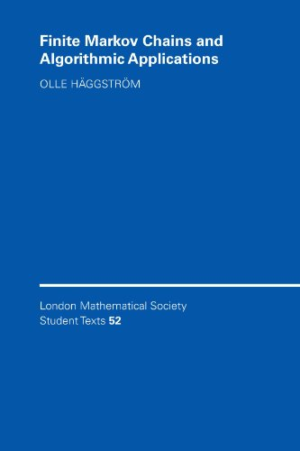 Finite Markov Chains and Algorithmic Applications (London Mathematical Society Student Texts) PDF