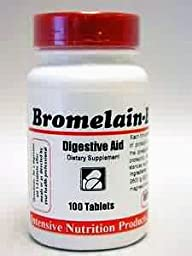 Intensive Nutrition - Bromelain 200 mg 100 tabs [Health and Beauty]