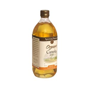 Spectrum Naturals Canola Oil Organic Refined 32 oz. (Pack of 12)