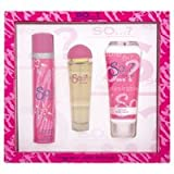 So Desirable Ladies Eau De Toilette Spray 50ml &100ml Body Lotion/75ml Scrub Set