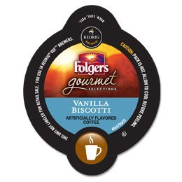 Folgers Vanilla Biscotti Vue For Keurig Vue Brewers - 16 Count Box