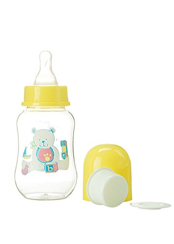 Abstract 6 Oz. Baby Feeding Bottle with Cover and Strainer 2 Pk - 1