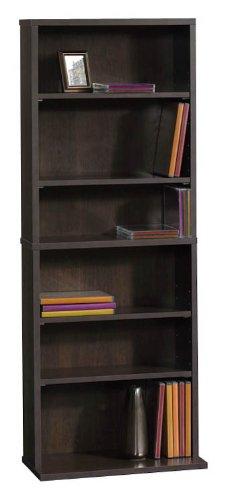 Image of 6 Shelf Multimedia Storage Tower by Sauder (B007IRIC9O)