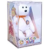TY Beanie Baby - COLOR ME BEANIE **TEDDY BEAR** (Complete Kit) (original color me beanie)