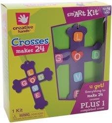 Fibre Craft Foam Kit Makes 24 Crosses 23862E; 3 Items/Order