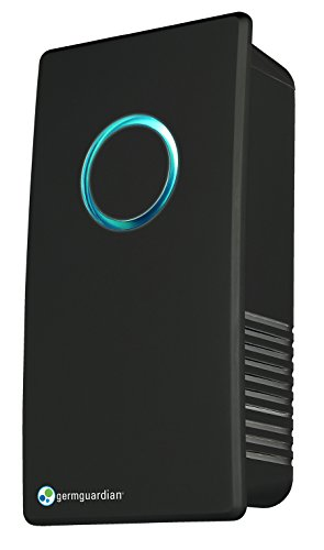 Guardian Technologies GermGuardian GG1100B Elite Pluggable UV-C Air Sanitizer and Deodorizer, Black