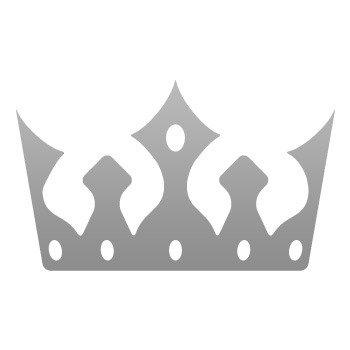 Royal Crown Chess Queen King Kingdom ... Grey (09 X 5.4 inch) ZZ245
