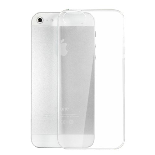 Moon Monkey Ultra-Thin Slim Transparent Skid Resistance Protective Cover Case For Iphone 5 5S (Mm369) (Transparent)
