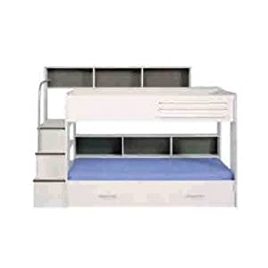 Kurt Trundle Bunk Bed Finish: White, Storage: Without Trundle