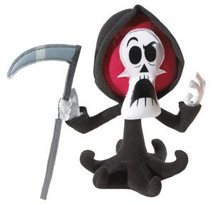 Buy Low Price Mattel Cartoon Network Smack n' Yak Plush Figure Grim (B000NW66D0)