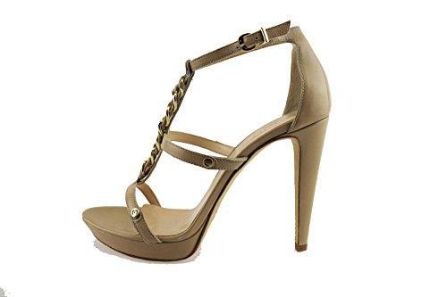 LIU JO sandali donna giallo / beige pelle (38 EU, Beige)