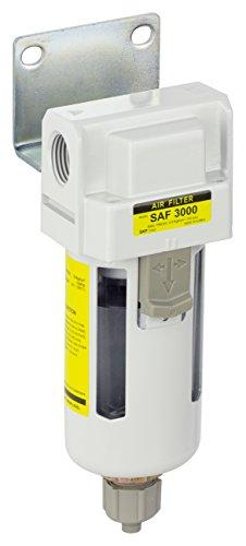 PneumaticPlus SAF3000M-N03B Compressed Air Particulate Filter, 3/8